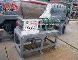 500kg de capacidade do Eixo Duplo triturador de resíduos hospitalares