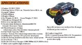 熱い販売! Big Feetの1/5個のスケールGas Power RC Monster TruckかCar Erc50