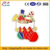 Distintivo personalizzato promozionale del metallo del pupazzo di neve di alta qualità