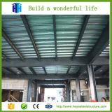 Течение долгого сегменте панельного домостроения в стальной рамы рабочего совещания на заводе складские здания
