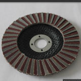 Disco abrasivo de óxido de alumínio roda borboleta com eixo de 3mm