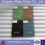 vetro riflettente verde e dentellare del bronzo, di Grey, dell'azzurro, di 4mm-10mm
