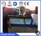 Da placa hidráulica de 3 rolos da qualidade W11-25X2000 superior máquina de rolamento de dobra