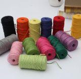 Mais corda bem escolhida do cânhamo da cor para a decoração de DIY