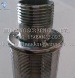 Logement de haute qualité SS316 0,75mm d'eau du filtre à l'écran Nozzoles / Johnson Nozzoles