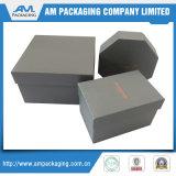 Venta al por mayor de papel rígida de la caja de regalo de la disposición de dos piezas