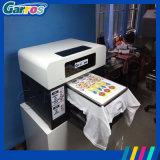 Imprimante à plat de T-shirt de taille des couleurs A3 de l'imprimante 4 de T-shirt de Garros Digital directement à l'imprimante de vêtement