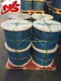 Fett A3, das nicht Ungalvanized Stahldrahtseil-Kabel 35X7 dreht