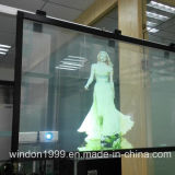 Hologramm-Projektor-ganz eigenhändig geschrieber hintere Projektions-Film