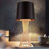 Luz decorativa de la lámpara de vector del escritorio del hotel del diseño superior con la cortina de la tela para la cabecera