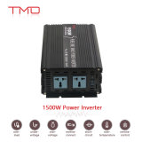 1500W 12V/24V/48VDC à l'inverseur pur de pouvoir d'onde sinusoïdale d'AC110V/220V
