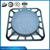 Couverture de trou d'homme malléable ronde de fer d'OEM avec SGS/ISO certifié