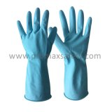35g s'est assemblé le certificat imperméable à l'eau de la CE de gant en caoutchouc normal de latex de ménage