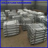Vite a terra d'acciaio galvanizzata qualificata per il montaggio solare