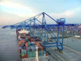 Puerto Puerto de montaje en carril de elevación pesada grúa 20ton.