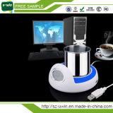 4 tazze di caffè Port dello scaldino del riscaldatore del USB con il mozzo
