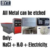 Machine gravure en métal pour l'aluminium en acier inoxydable