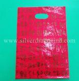 Изготовленный на заказ милый напечатанный пластичный мешок несущей мешка подарка