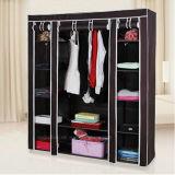 현대 간단한 옷장 가구 직물 접히는 피복 병동 저장 회의 특대 증강 조합 간단한 옷장 (FW-36)