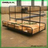 1 tonne Heavy Duty entrepôt spécifique et l'usine de charge de l'utilisation chariot de transfert