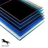 4mm Grenn/Grijs/Blauw/Brons/de Gouden Harde Prijs van het Glas van de Deklaag Weerspiegelende voor de Bouw van Glas