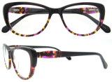 Vrouwen Eyewear van de Frames van de Oogglazen van de Acetaat van het Ontwerp van de Manier van meisjes de Hoogste