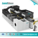 インドの市場のLandglassの国際規格のガラス和らげる機械