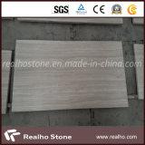 Мрамор зерна китайской белизны деревянный для конструкции плитки панели стены