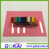 Impression de feuille acrylique