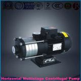 Pompe à plusieurs étages centrifuge horizontale industrielle d'acier inoxydable de Chl