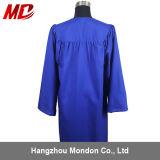 Robe longue mate noire de graduation pour des gosses