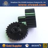 Cnc-maschinell bearbeitende kleine gezahnte Aluminiumgänge