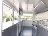 2018 Towability catering comida Trailer doble eje Mobile Burger Van