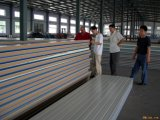 Farbe beschichtetes Stahl-PU Isoliersandwich-Panel
