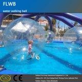 bola flotante del agua de la piscina inflable del PVC/de TPU de 0.7~1.0 milímetros