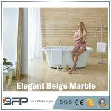 Импортированная бежевая мраморный плитка пола для настила/лоббиа/стены гостиницы