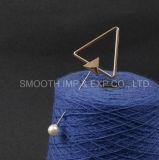 Треугольник Pearl валик клея цинка металлического сплава Brooch контакт одежды украшения