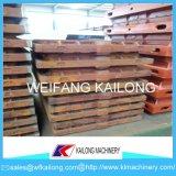 Cadres de sable de qualité, cadre de Moluld, matériel malléable de fonderie de produit de cadre de moulage de sable de fer de fonte grise