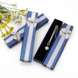 China Wholesale pajarita azul Collar y arete Gift Rap joyas mostrar cajas de embalaje de regalo ##Jb07
