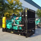 680kVA Groupe électrogène diesel de type ouvert avec panneau de commande 6210
