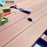 Anti- UV- und wasserdichter hölzerner zusammengesetzter Plastikbodenbelag des Decking-WPC