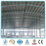 Mesure légère encadrant l'entrepôt galvanisé de structure métallique à vendre