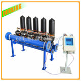 PA6 Houding 물 RO 시스템 물 액체 정화기 RO 막 자동적인 역류 디스크 필터