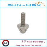 Peças em aço inoxidável rodando CNC de alta precisão