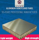 Panneau en aluminium haute résistance Honeycomb bon sandwich la planéité de la muraille et panneau de plafond