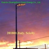 60W tous dans une rue lumière solaire intégré à l'extérieur de la rue LED Lampe d'éclairage solaire