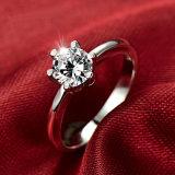 Moda jóias esterlina 925 Anéis de prata para as mulheres de bijutaria Design simples Suite Casamento Anel de engrenamento