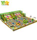 Les enfants d'escalade RAINBOW NET INDOOR Soft Aire de jeux Faites glisser les jouets de la fosse à billes