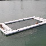 Dock flottant Flatform Piscine gonflable pour Yachs