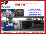 Tasse en plastique jetables Making Machine (PPTF-70T)